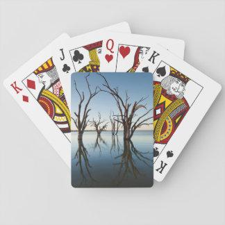 Australia, Murray River Valley, Barmera, Lake Playing Cards