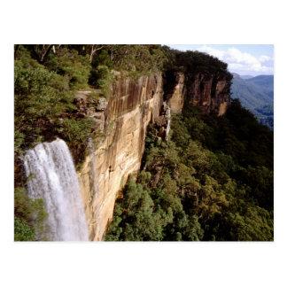 Australia, New South Wales, Fitzroy Falls. Postcard