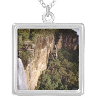Australia, New South Wales, Fitzroy Falls. Square Pendant Necklace