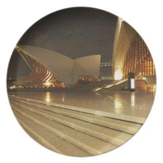 Australia, New South Wales, Sydney, Sydney Opera 2 Plate