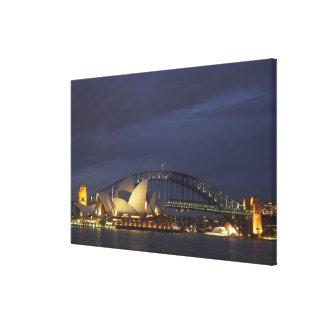 Australia, New South Wales, Sydney, Sydney Opera 3 Canvas Print