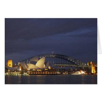 Australia, New South Wales, Sydney, Sydney Opera 3 Card