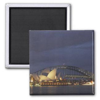 Australia, New South Wales, Sydney, Sydney Opera 3 Magnet