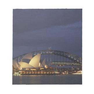 Australia, New South Wales, Sydney, Sydney Opera 3 Notepad