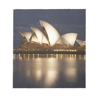 Australia, New South Wales, Sydney, Sydney Opera 4 Notepad