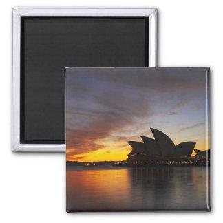 Australia, New South Wales, Sydney, Sydney Opera 5 Magnet