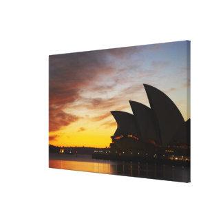 Australia, New South Wales, Sydney, Sydney Opera Canvas Print