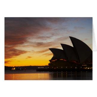 Australia, New South Wales, Sydney, Sydney Opera Greeting Card