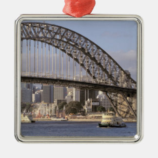 Australia, New South Wales, Sydney, Sydney Silver-Colored Square Decoration