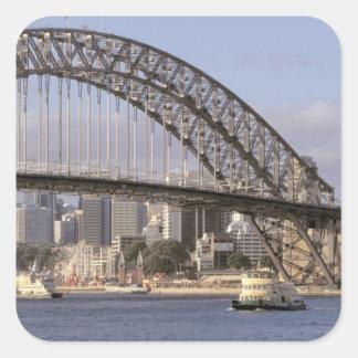 Australia, New South Wales, Sydney, Sydney Square Sticker