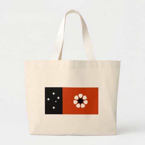 Australia Northern Territory Flag Canvas Bags