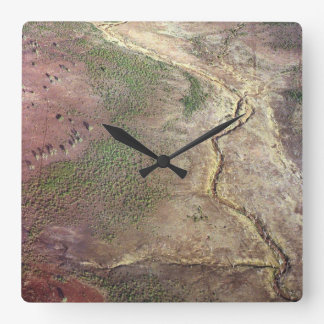Australia: Northern Territory Square Wall Clock