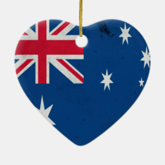 Australia-Oceania :: Ashmore and Cartier Islands Ceramic Heart Decoration