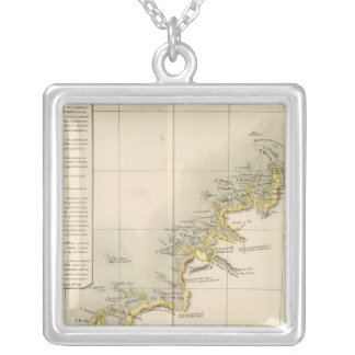 Australia Oceania no 35 Silver Plated Necklace