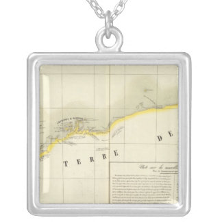 Australia Oceania no 44 Silver Plated Necklace