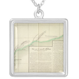 Australia Oceania no 53 Silver Plated Necklace