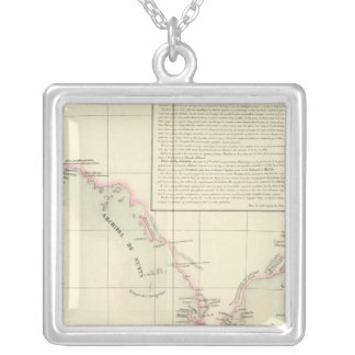 Australia Oceania no 54 Silver Plated Necklace