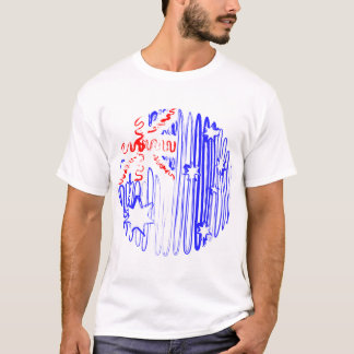 Australia on White Tee Shirt