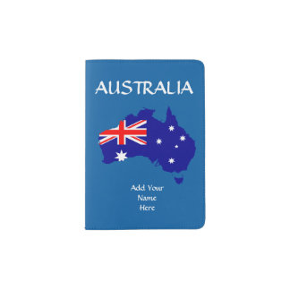 Australia Passport Cover