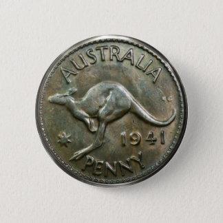 Australia Penny 1941 6 Cm Round Badge