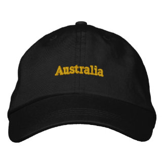 Australia Personalized Adjustable Hat