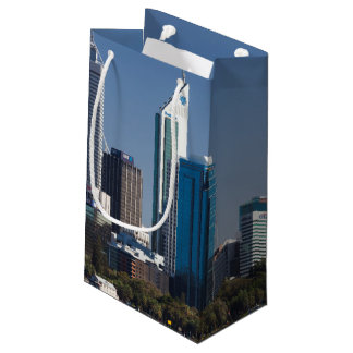 Australia, Perth, city skyline from Swan River Small Gift Bag