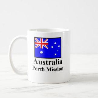 Australia Perth Mission Drinkware Basic White Mug