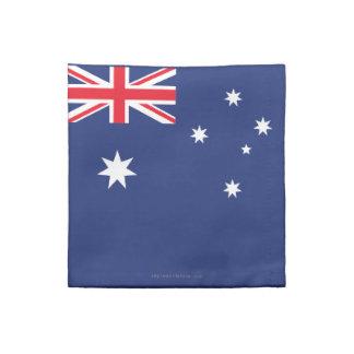 Australia Plain Flag Napkin
