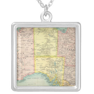 Australia political silver plated necklace