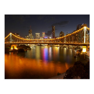 Australia, Queensland, Brisbane, Story Bridge, 2 Post Card