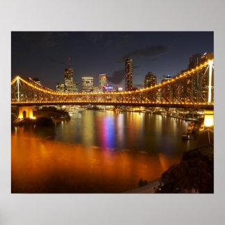 Australia, Queensland, Brisbane, Story Bridge, 2 Poster