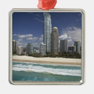 Australia, Queensland, Gold Coast, Surfers Christmas Ornament