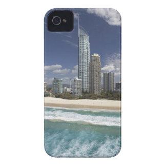 Australia, Queensland, Gold Coast, Surfers iPhone 4 Cover