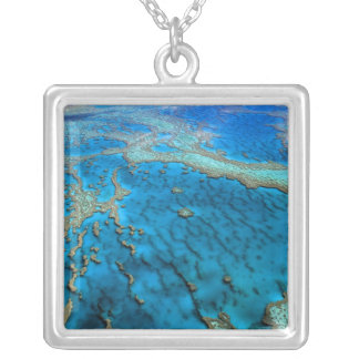 Australia - Queensland - Great Barrier Reef. 2 Silver Plated Necklace