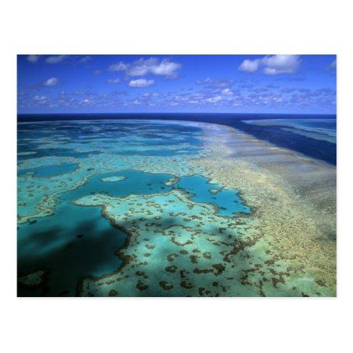Australia - Queensland - Great Barrier Reef. 4 Post Card