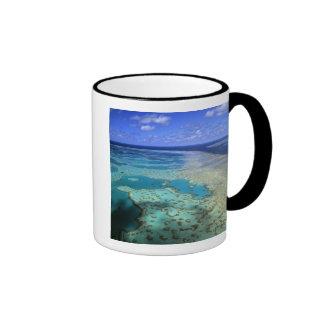 Australia - Queensland - Great Barrier Reef. 4 Ringer Mug