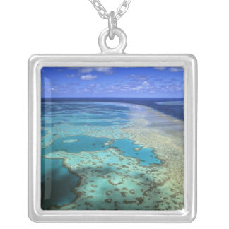 Australia - Queensland - Great Barrier Reef. 4 Silver Plated Necklace