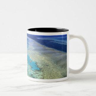 Australia - Queensland - Great Barrier Reef. 4 Two-Tone Coffee Mug