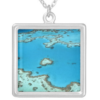 Australia - Queensland - Great Barrier Reef. 5 Silver Plated Necklace