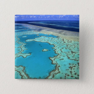 Australia - Queensland - Great Barrier Reef. 7 15 Cm Square Badge