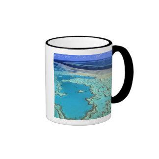 Australia - Queensland - Great Barrier Reef. 7 Ringer Mug