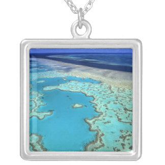 Australia - Queensland - Great Barrier Reef. 7 Silver Plated Necklace