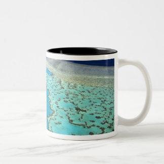 Australia - Queensland - Great Barrier Reef. 7 Two-Tone Coffee Mug