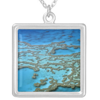 Australia - Queensland - Great Barrier Reef. Silver Plated Necklace