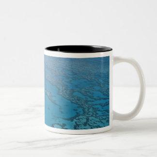 Australia, Queensland. Great Barrier Reef Two-Tone Coffee Mug