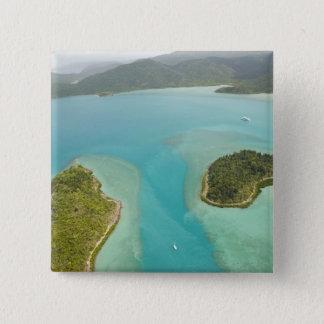 Australia, Queensland, Whitsunday Coast, 15 Cm Square Badge