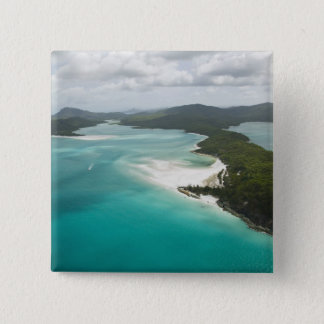 Australia, Queensland, Whitsunday Coast, 2 15 Cm Square Badge
