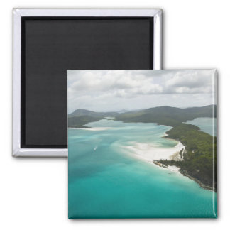 Australia, Queensland, Whitsunday Coast, 2 Square Magnet