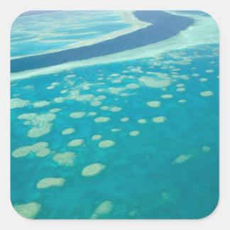 Australia, Queensland, Whitsunday Coast, Great 4 Square Sticker