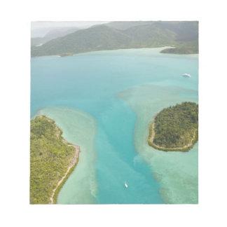 Australia, Queensland, Whitsunday Coast, Notepad